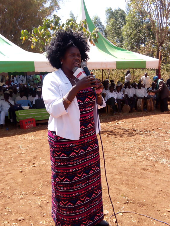 Bungoma woman representative Catherine Wambilianga