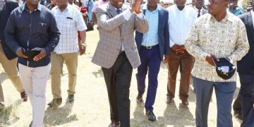 Deputy President William Ruto in Lurambi, Kakamega County