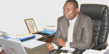 Vihiga Executive Committee Member in the Ministry of Public Service and Administration Paul Mbuni