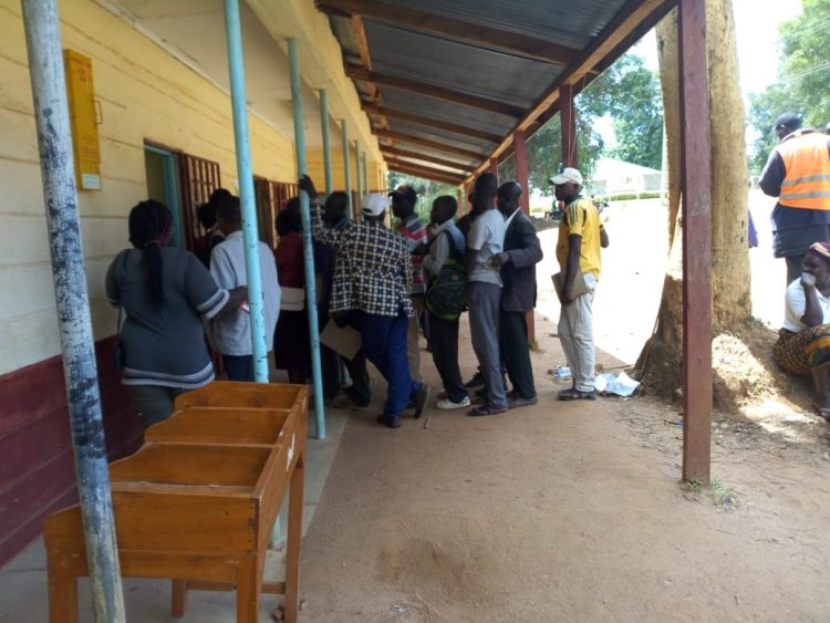 West Pokot residents have faulted the long process in place to obtain birth certificates, including long queues