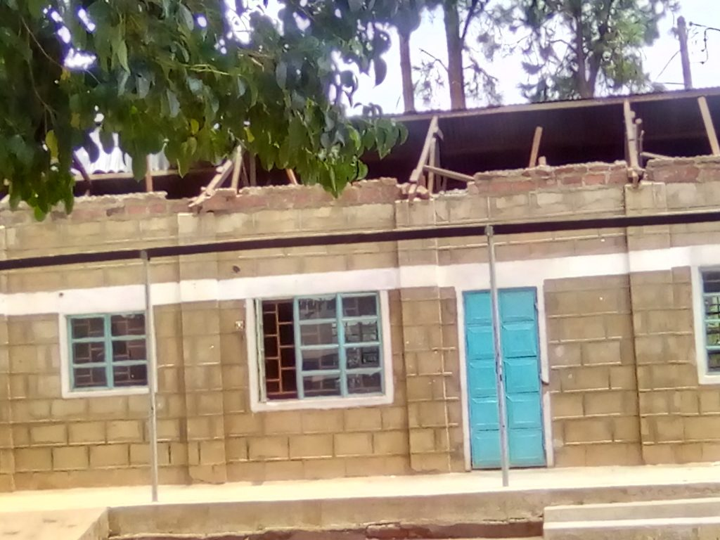 After the incident, Shinyalu MP Justus Kizito Mugali said structures in the school need to be rebuilt