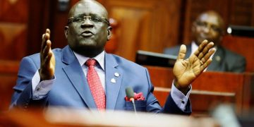 Education CS Prof. George Magoha is leading the crackdown on schools that aren't safe for learners due to poor infrastructure and other factors