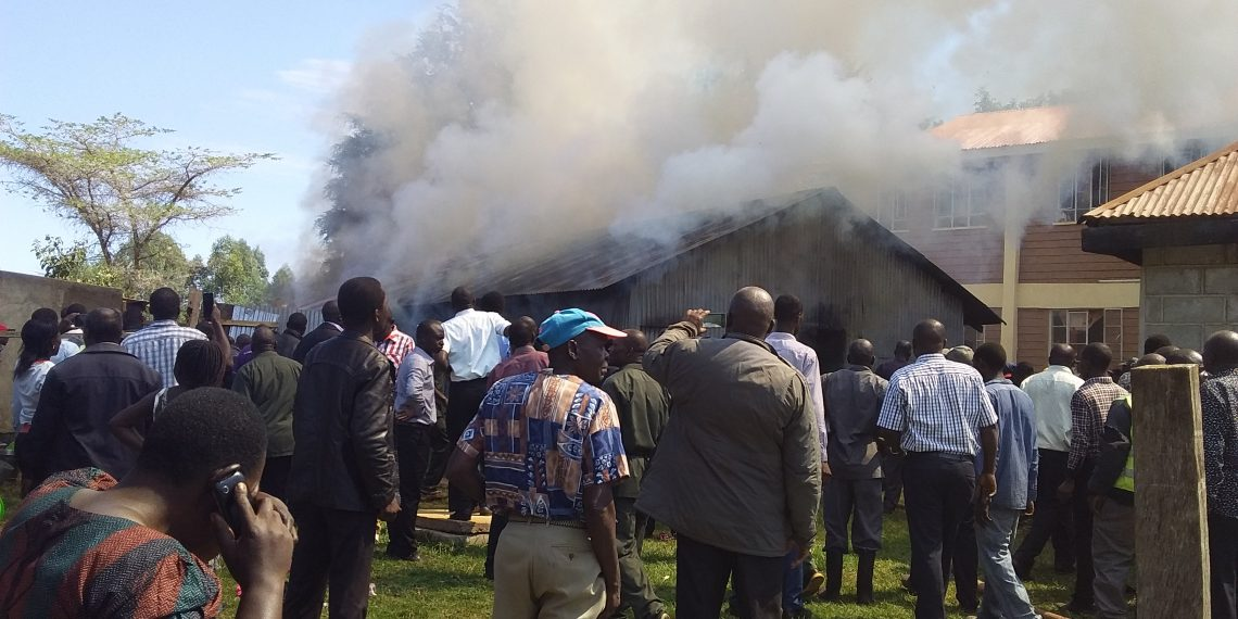 Parents present during the fire incident at St Joseph's Girls School
