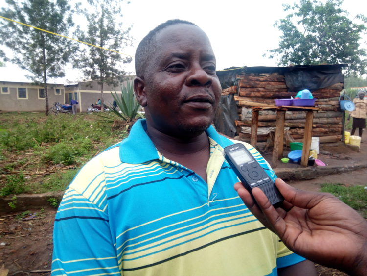 Steve Orachi, one of the villagers who were amused by the incident