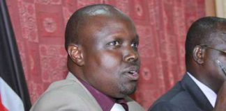 Transport Committee Chairman and Pokot South MP David Pkossing