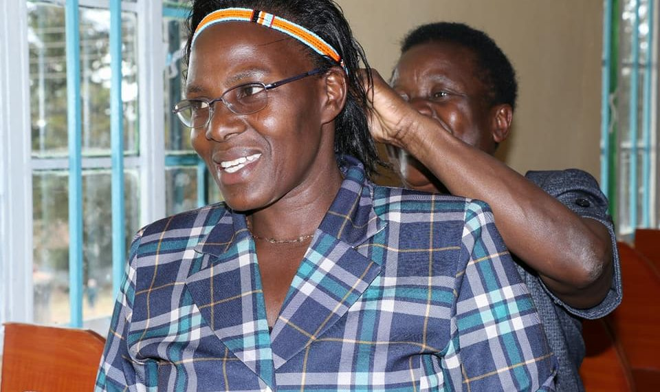 West Pokot First Lady Dr. Mary Lonyangapuo has urged residents to know their HIV status