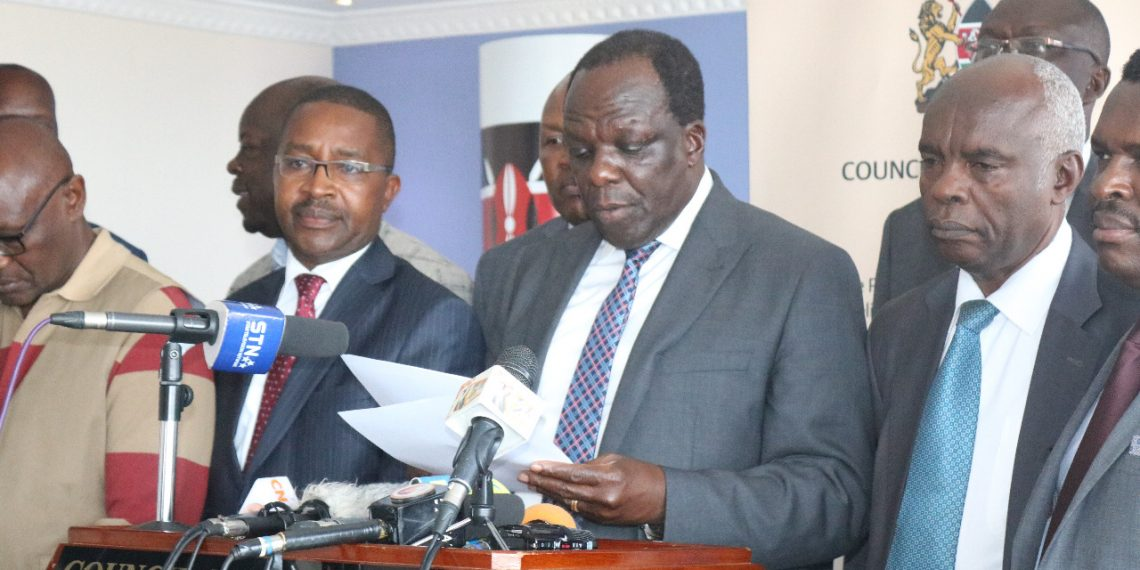 Governor Wycliffe Oparanya has faulted the stand of some leaders who are part of the mediation team who aren't open to talks