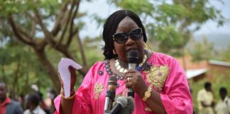 Ida Odinga has said leaders involved in corruption should return what they've stolen