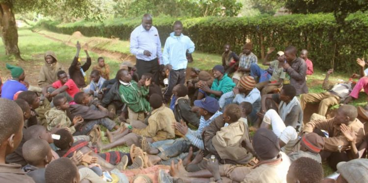 Street children in Kitale