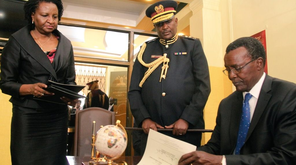 Chief Justice David Maraga said the Judiciary and the Police Service have worked well