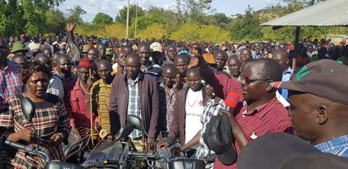 The Governor said the bikes will aid the movement of peace actors along the volatile borders