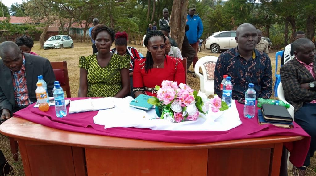 The mentorship program was put in place by West Pokot first lady Dr. Mary Lonyangapuo