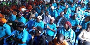 Many turned up for the launch of the Mukombozi Sinoko Salaams Club