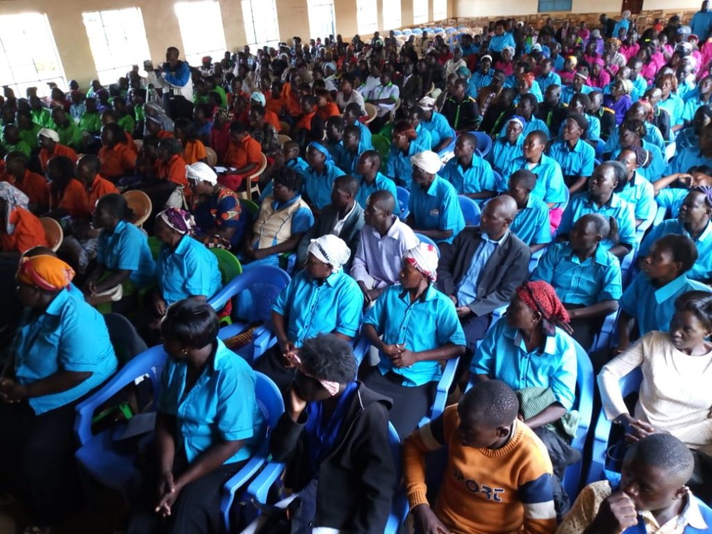 The launch took place at St. Paul High School Sinoko in Trans Nzoia