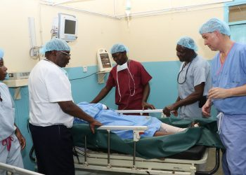 Two patients underwent successful operations