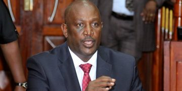 Hillary Mutyambai has been approved as the new Police Inspector General
