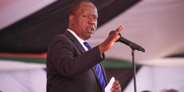 Interior CS Dr. Fred Matiang'i. PHOTO/COURTESY