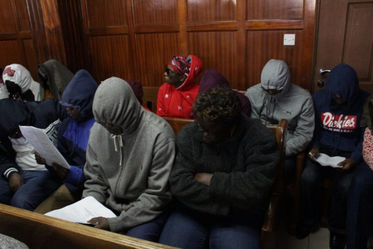 The KRA employees were arraigned in Court on Monday. Photo/Courtesy