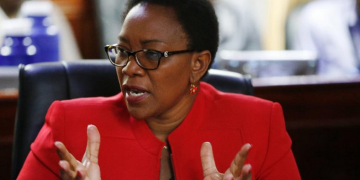 Health CS Sicily Kariuki. Photo/Courtesy