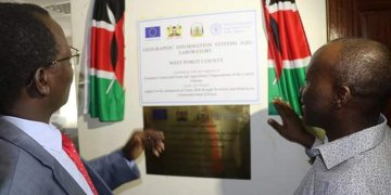 West Pokot Governor John Lonyangapuo said the GIS Lab will come in handy