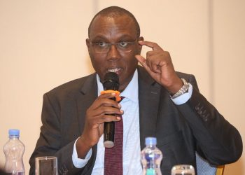 Kenya National Bureau of Statistics (KNBS) Director General Zachary Mwangi