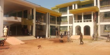Ongoing preparations at the new Vihiga Law Courts Complex