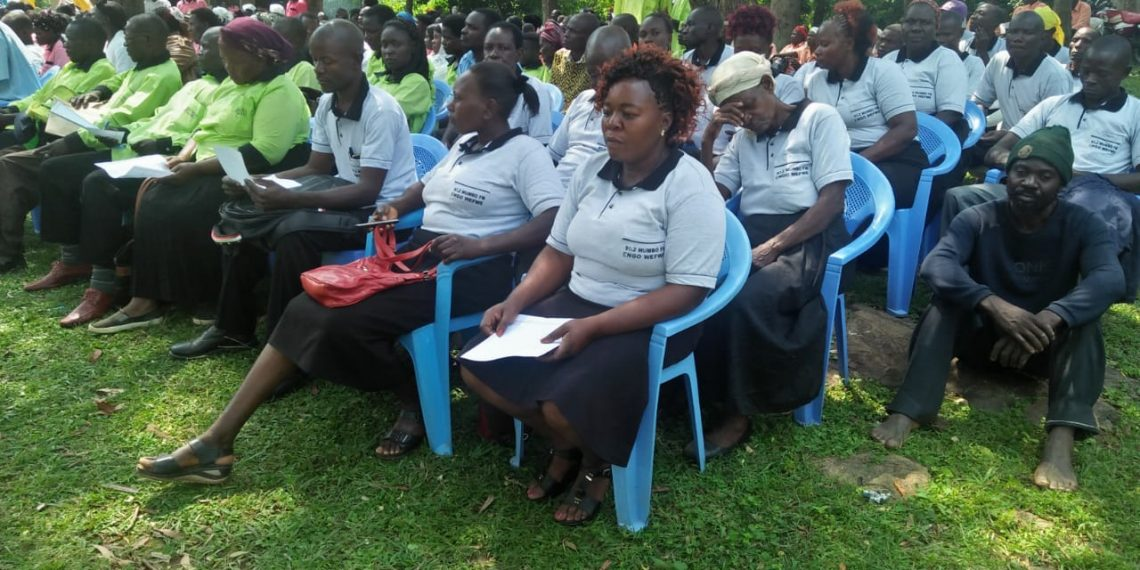 10 Salaams Club affiliated to Mumbo FM launched at Chebuyusi Friends church