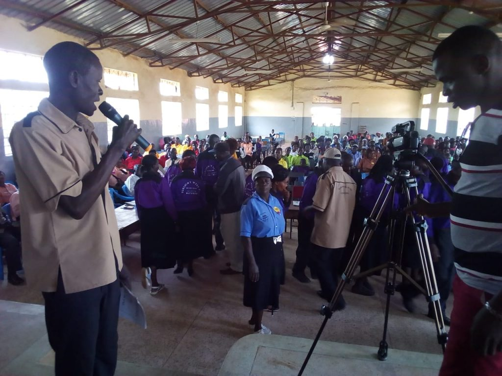 The meeting took place at Matunda S A Secondary School