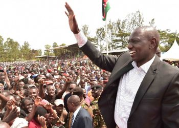 Deputy President William Ruto was speaking in Vihiga. Photo/DPPS