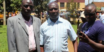 From left; Kepha Were and James Wanambisi Mulongo