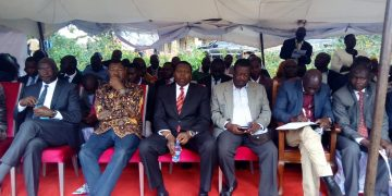 Those present included Bungoma Governor Wycliffe Wangamti, Bungoma Senator/Ford Kenya leader Moses Wetangula, Devolution CS Eugene Wamalwa, ANC leader Musalia Mudavadi among others