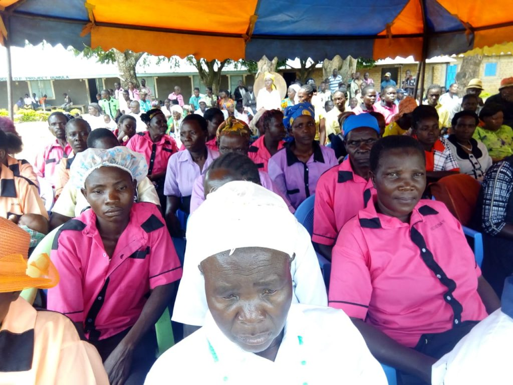 The launch took place in Bumula on Tuesday