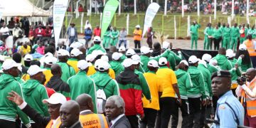 Some of the participants at the 2019 KICOSCA games