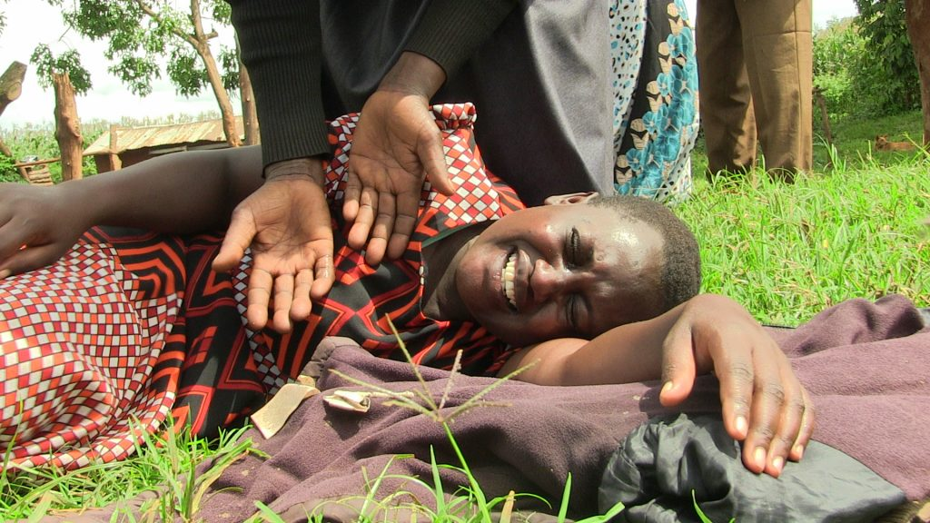 A woman is overcome by grief after learning of the demise of Daisy Chepkemoi