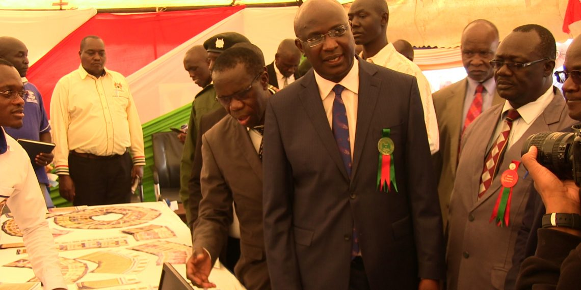 Bungoma Governor Wycliffe Wangamati at the ASK Show
