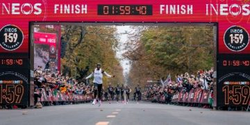 Eliud Kipchoge became the first man to run a marathon in under 2 hours. Photo/Courtesy