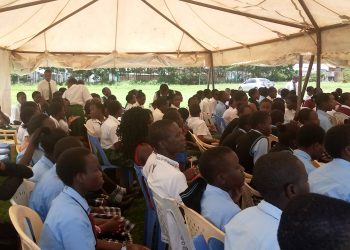Some of those present at the function at Bungoma Posta ground