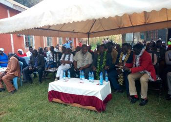 Members of the Western Renewal team led by Devolution CS Eugene Wamalwa