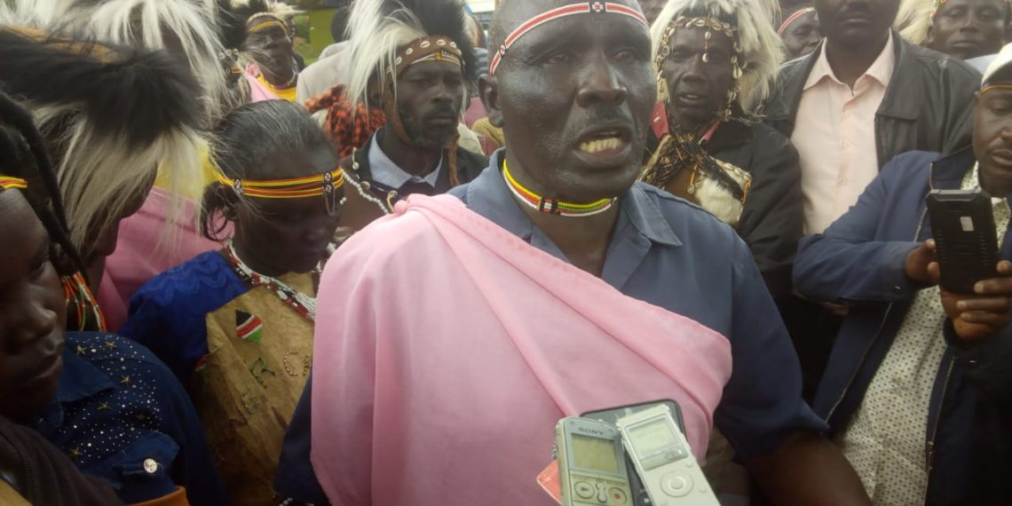 Members of the Sengwer community are marching to State House; seek meeting with President Kenyatta