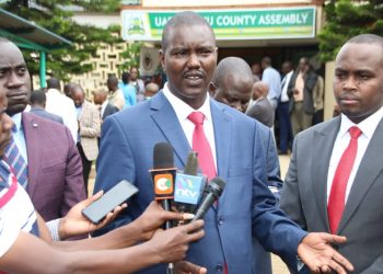 The traders lamented the move by the Uasin Gshu government led by Governor Jackson Mandago to move them from the town space
