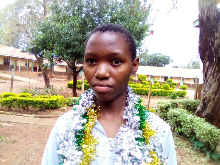 Cynthia Deborah from Kakamega Primary School got 431 marks