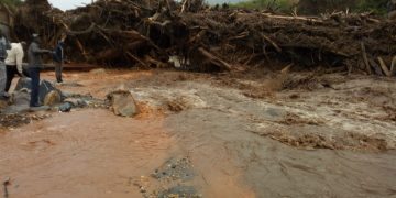 The damage caused by the landslides has been immense
