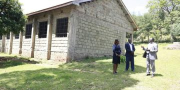 Nandi Education CEC Grace Sugut was speaking during a fact finding mission on ECDE projects across Nandi County