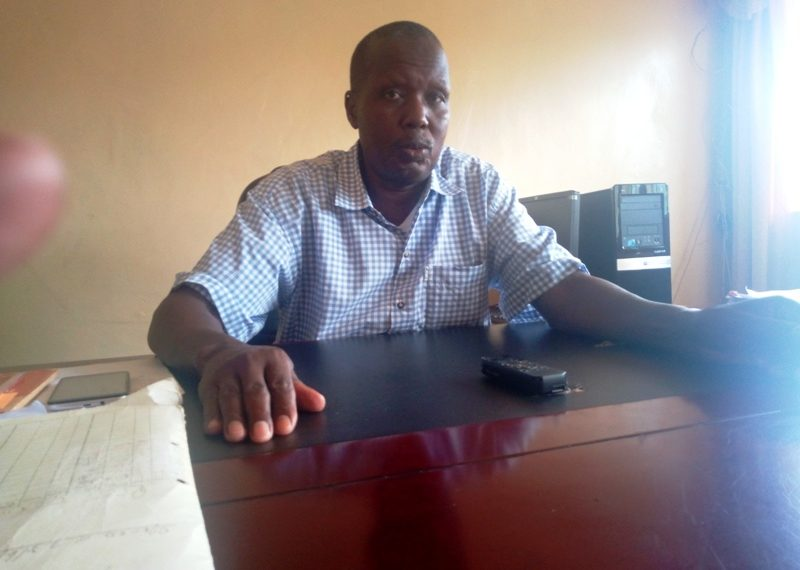 Lugari Deputy County Commissioner William Lenaremo