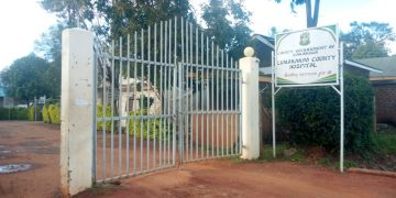 The candidate gave birth to a baby boy at Lumakanda County hospital