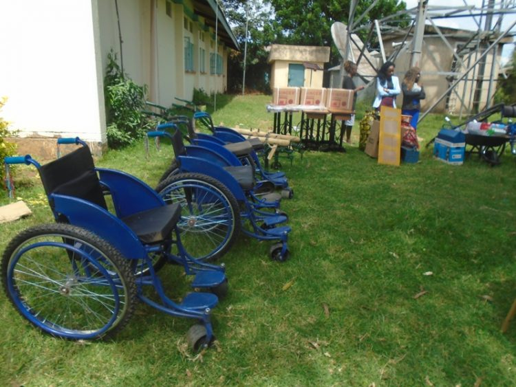 Some of the tools given to persons with disabilities in Lugari