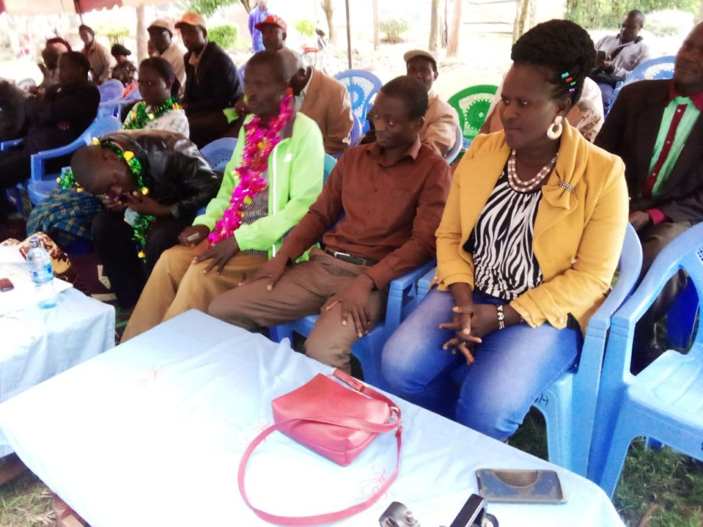 Some of those present during the launch