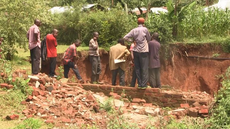 The threat of landslides still linger at Lugala village in Lurambi