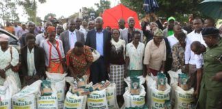 More than 17,000 farmers have received fertilizer