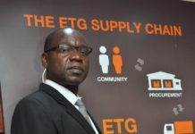 Shem Odhiambo, a County Director of Export Trading Group (ETG)